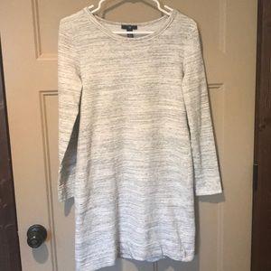Gap long sleeve tee dress